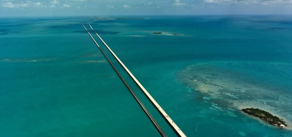 Florida Keys Bridge Magnesium Blue