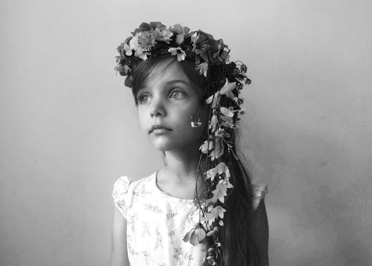 Tendril flower crown magnesium blue tendril flower crown izmirmasajfo